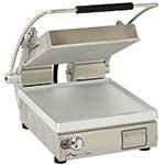 Star Manufacturing PST14 Two-Sided Grill, 14 x 14-in Smooth Grill Plates, 120v