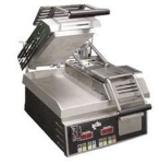 Star Manufacturing GR14IE-230  Two-Sided Grill, Smooth Iron Plate, 14 x 14-in, Export