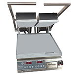 Star Manufacturing GR14STE 2-Side Specialty Grill w/ Fixed Lower & Hinged Upper, Aluminum Plates, 120v