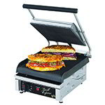 Star GX10IG Two-Sided Grill, 10-in Grooved Cast Iron Plates, 120V