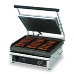 Star GX14IS Commercial Panini Press w/ Cast Iron Smooth Plates, 120v