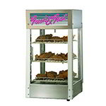 "Star HFD-1 240 15"" Self-Service Countertop Heated Display Case - (3) Shelves, 240v/1ph"