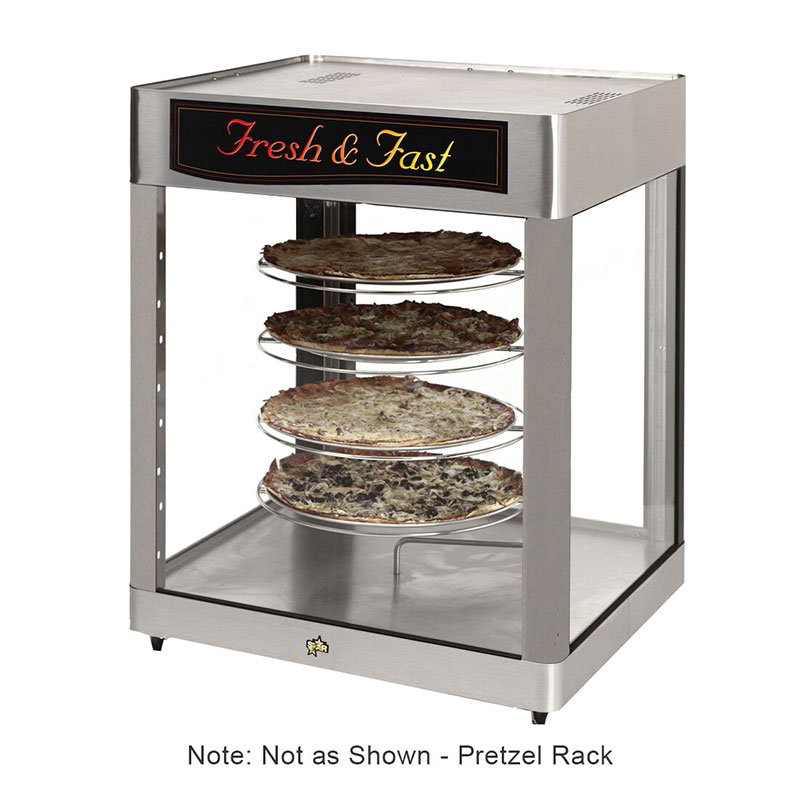 Star HFD3APTP Humidified Cabinet, Pretzel Rack, 28.25 x 26.75-in, 2-Door