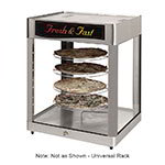 Star HFD3AS Humidified Display Cabinet, See-Thru, 4-Shelf, Universal Rack