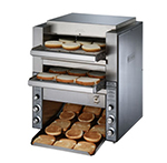 Star Manufacturing DT14208 Conveyor Toaster, (2) 14-in Belts, 1000 Slices/Hour, 208 V