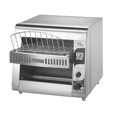 Star Manufacturing QCS1500B Compact Horizontal Bagel Conveyor Toaster, 500-Halves Per Hour, 120v