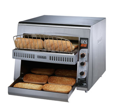 Star Manufacturing RCS2-600N Radiant Conveyor Toaster - 400-Slices/hr, Stainless 120v