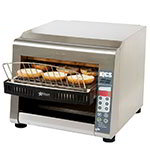 Star IQCSE3-1600B 208/240 Impingement Conveyor Toaster - 1,600-Slices/hr, Stainless 208-240v