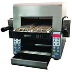 "Star Manufacturing IRCSE2-SB 208/240 Split-Belt Conveyor Toaster - (2)5"" Wide Belts, Stainless 208-240v"