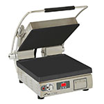 Star PST14IGT Commercial Panini Press w/ Cast Iron Grooved Top/Smooth Bottom Plates, 208-240v/1ph