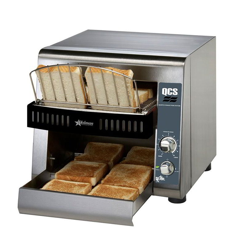 "Star QCS1-350 Conveyor Toaster - 350-Slices/hr w/ 10""W Belt, 120v"