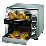Star Manufacturing QCS1500B Compact Horizontal Bagel Conveyor Toaster, 500-Halves Per Hour, 120  V