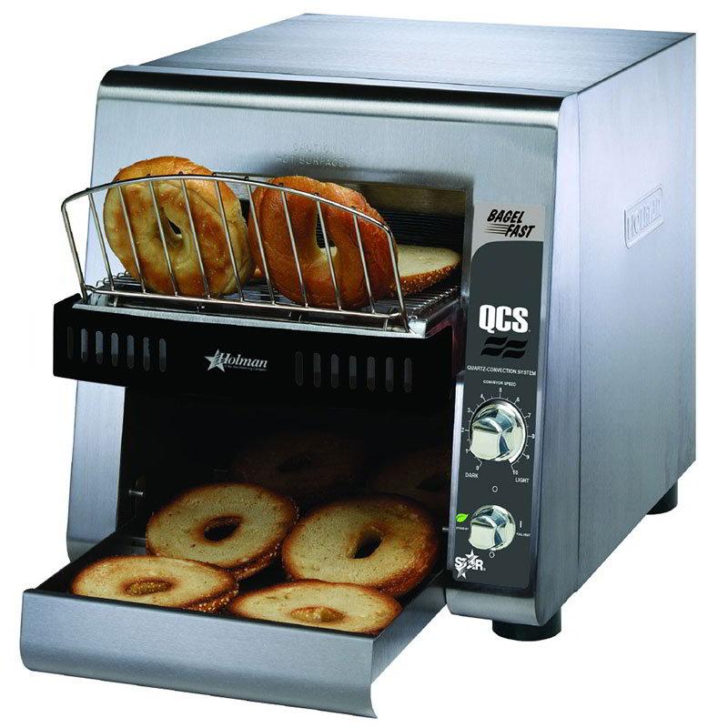 "Star QCS21200B208 Conveyor Toaster, 2-Slice x 1.5"" Opening, 1200 Slices/Hr, 208v"