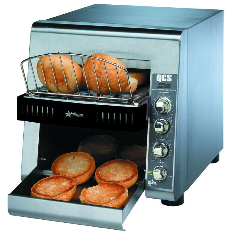 Star QCS2-600H Conveyor Commercial Toaster Oven - 208v/1ph