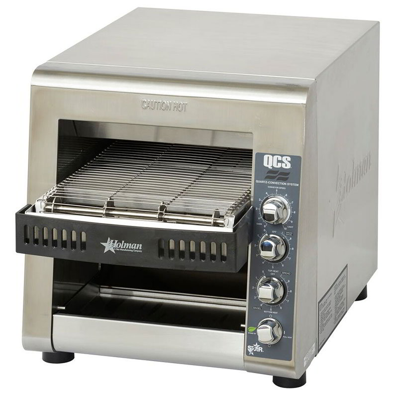 "Star QCS3-1000 Conveyor Toaster - 1000-Slices/hr w/ 14""W Belt, 120v"
