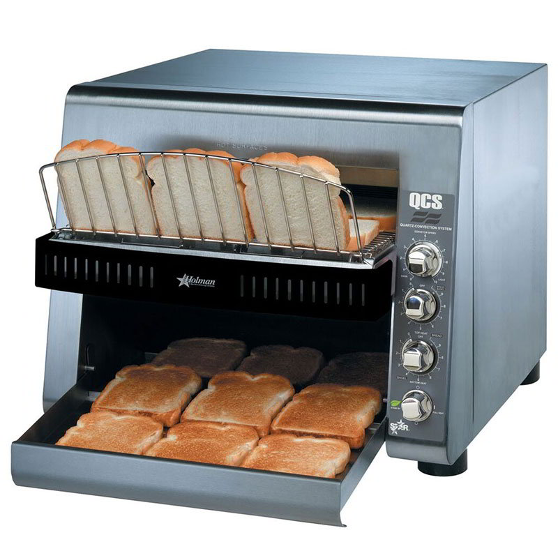 "Star QCS3-1300 Conveyor Toaster - 1300-Slices/hr w/ 14""W Belt, 120v"