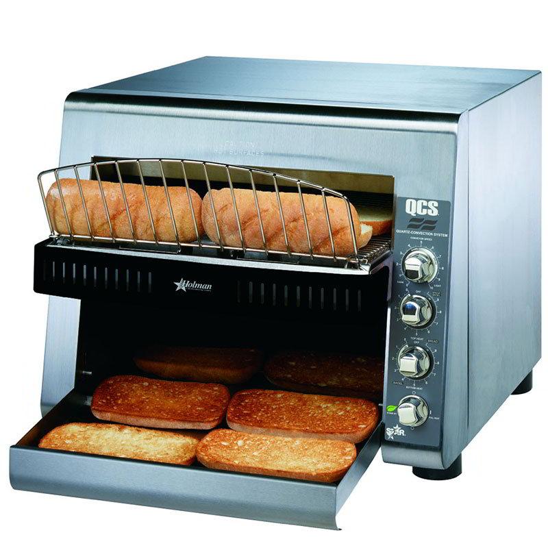 "Star QCS3-950H Conveyor Toaster - 950-Slices/hr w/ 14""W Belt, 120v"