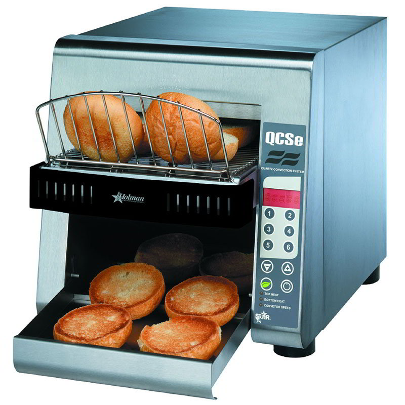 Star QCSE2-600H Conveyor Toaster, Electronic Controls, 600 Slices/Hr, 240v