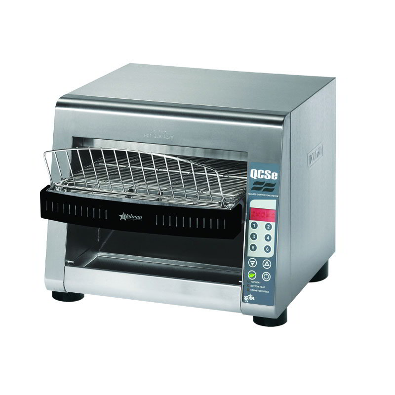 Star QCSE3-1000 Conveyor Toaster, Electronic Controls, 1000 Slices/Hr, 240v