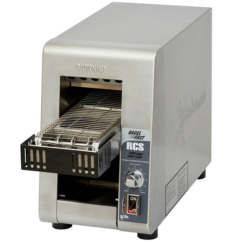 Star RCS2-600BN Radiant Conveyor Toaster - 600-Slices/hr, Stainless 120v
