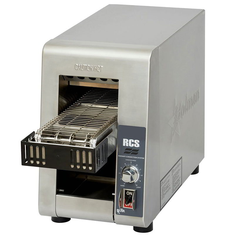 Star RCS2-600N Radiant Conveyor Toaster - 400-Slices/hr, Stainless 120v