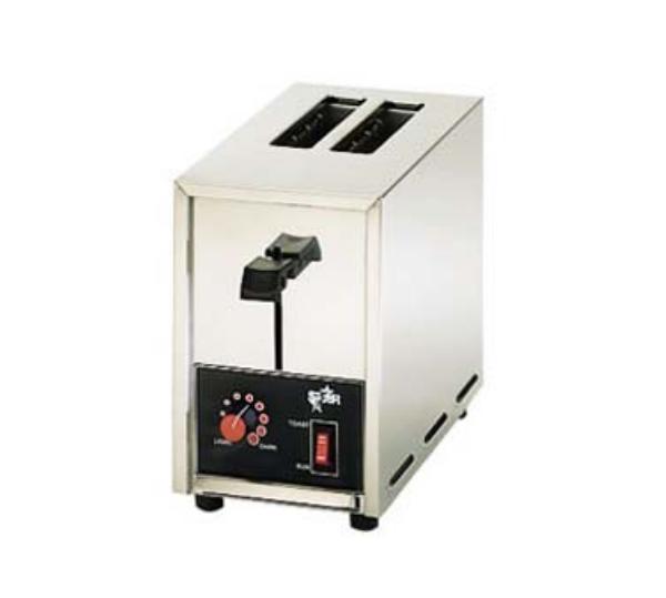 Star Manufacturing ST02 Pop-Up Toaster, 2 Slice Bread/Bagel, 120 V