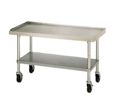Star Manufacturing ESUM72S Equipment Stand, 72 x 30 x 24-in, w/ Bottom Shelf, Stainless