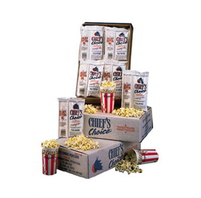 Star Manufacturing CC248OZ Popcorn Portion Packs, Chief Choice, (24) 8oz Packs