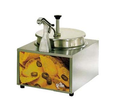 Star Manufacturing 11WLAHS Lighted Food Warmer ,Pump w/ Heat Spout, 11-qt