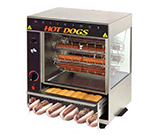 Star Manufacturing 175CBA-230 Hot Dog Broiler w/ Cradle & Bun Warmer, 36-Dogs & 32-Buns, Export
