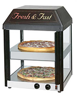 Star Manufacturing 18MCP Pizza Merchandiser, 18-in, Heated, (2)16-in Pizzas
