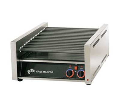 Star Manufacturing 30SC 30 Hot Dog Roller Grill - Slanted Top, 120v