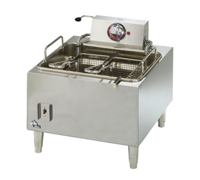 Star Manufacturing 301HLF Countertop Electric Fryer - (1) 15-lb Vat, 208v/1ph