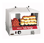 Star Manufacturing 35SSC Hot Dog Steamer, 6-qt Water Pan, 130-Dogs/30 to 40-Buns
