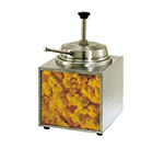 Star Manufacturing 3WLA-B Countertop Lighted Butter Warmer w/ Pump, 3.5-qt Capacity, 120v