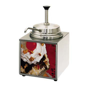 Star Manufacturing 3WLAP Lighted Specialty Warmer w/ Pump, 3.5-qt, Stainless