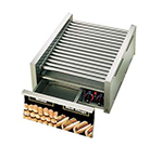 Star Manufacturing 45CBD CSA-120 45 Hot Dog Roller Grill w/Bun Storage - Slanted Top, 120v, CSA