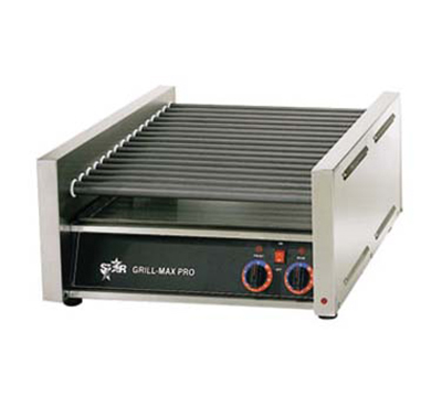 Star Manufacturing 45C CSA-120 45 Hot Dog Roller Grill - Slanted Top, 120v, CSA