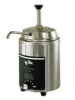 Star Manufacturing 4RWP Food Warmer, Round, w/ Pump, 4-qt