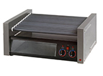 Star Manufacturing 50SCBBC 50 Hot Dog Roller Grill w/Bun Storage - Slanted Top, 120v