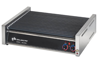 Star Manufacturing 50SCF CSA-120 50 Hot Dog Roller Grill - Flat Top, 120v, CSA