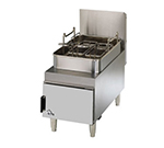 Star Manufacturing 615FF Countertop Gas Fryer - (2) 15-lb Vat, NG