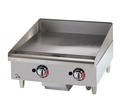 "Star Manufacturing 615TF 15"" Griddle - 1"" Steel Plate, Thermostat Controls, NG"