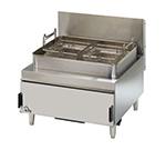 Star Manufacturing 630FF Countertop Gas Fryer - (2) 30-lb Vat, NG