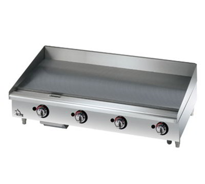 "Star Manufacturing 648MF 48"" Griddle - 1"" Steel Plate, Manual Controls, NG"