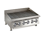 Star Manufacturing 8136RCBA 36-in Charbroiler - Manual Controls, Steel Radiants, 120000-BTU, NG