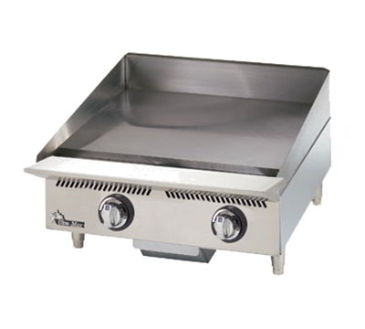 "Star Manufacturing 824MA 24"" Griddle w/ 1"" Steel Plate & Manual Controls, NG"
