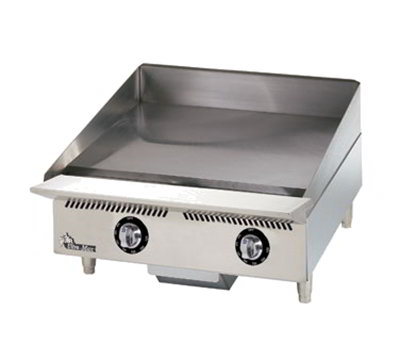"""Star Manufacturing 824TA 24"""" Griddle - 1"""" Steel Plate & Throttling Thermostat Controls, NG"""