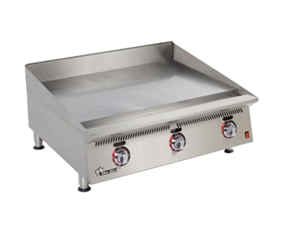 "Star Manufacturing 836TSA 36"" Griddle - 1"" Steel Plate & Snap Action Thermostat, NG"