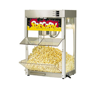 Star Manufacturing 86SS-230 Self Serve Popcorn Popper, 8-oz Kettle, (170) 1-oz Servings, Export